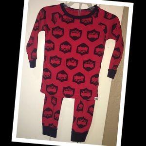 Baby Gap 12-18m two-piece firefighter pajama set🚒